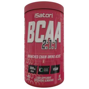 Isatori BCAA 400 cpr Aminoacidi Ramificati Qualita' Kyowa con Vitamina B in vendita su Nutribay.it