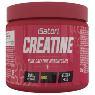 ISATORI Creatine 200 gr Creatina Monoidrato Pura Polvere Micronizzata Creapure in vendita su Nutribay.it