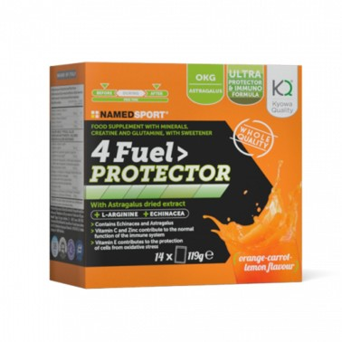 NAMED 4FUEL PROTECTOR - 14 SACHETS in vendita su Nutribay.it