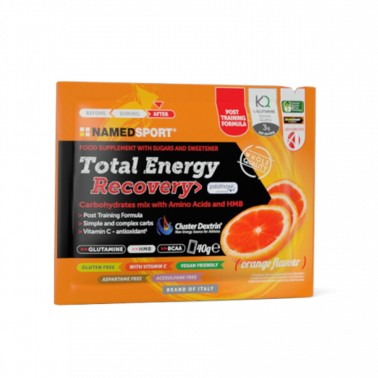 NAMED TOTAL ENERGY RECOVERY ORANGE - 40 gr in vendita su Nutribay.it