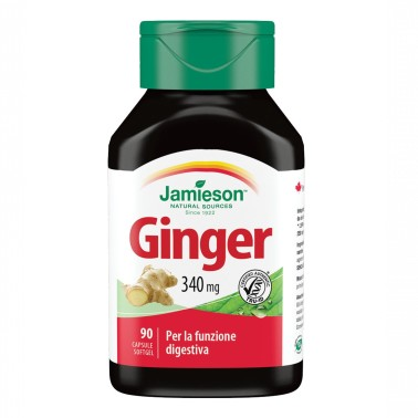 JAMIESON Ginger 30 softgels in vendita su Nutribay.it