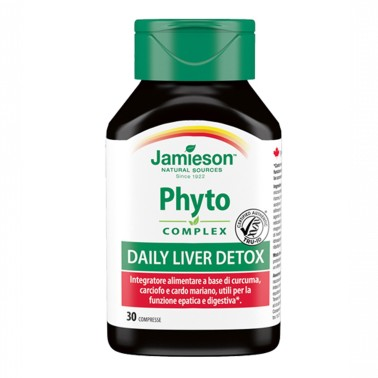 JAMIESON Phyto Complex Daily Liver Detox 30 cpr in vendita su Nutribay.it