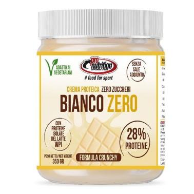 PRONUTRITION BIANCO ZERO 350G - CIOCCOBIANCO CRUNCHY in vendita su Nutribay.it