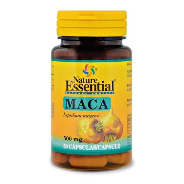 NATURE ESSENTIAL Maca 500 mg - 50 caps in vendita su Nutribay.it