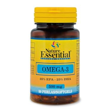 NATURE ESSENTIAL OMEGA 3 500 mg - 50 caps in vendita su Nutribay.it