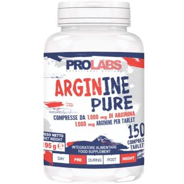 Prolabs Arginine Pure 150 Cpr Arginina Ossido Nitrico Vigore Sessuale e Erezione in vendita su Nutribay.it