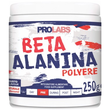 Prolabs Beta Alanina 250 gr. In polvere Antiossidante Pre-workout per Carnosina in vendita su Nutribay.it