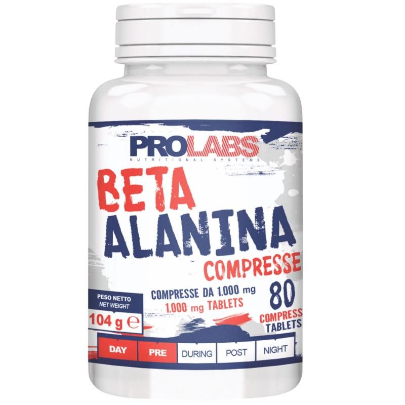 Prolabs Beta Alanina 80 cpr. Precursore Carnosina Antiossidante in vendita su Nutribay.it
