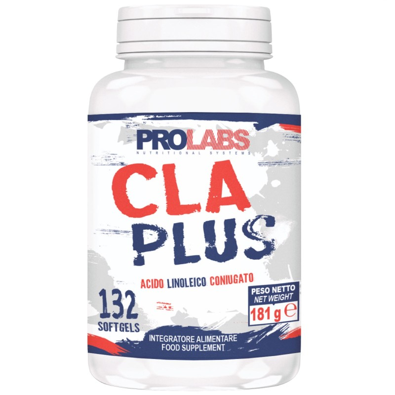 Prolabs CLA Plus 132 cps. Acido linoleico Coniugato in vendita su Nutribay.it