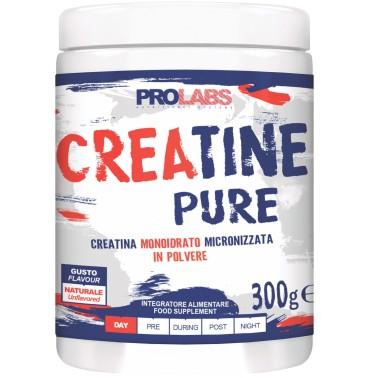 Prolabs Creatine Pure 300 gr Creatina Monoidrato Micronizzata in Polvere in vendita su Nutribay.it
