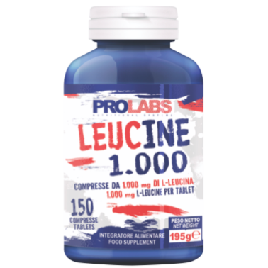 Prolabs Leucine 1000 150 compresse di Aminoacido Leucina in vendita su Nutribay.it