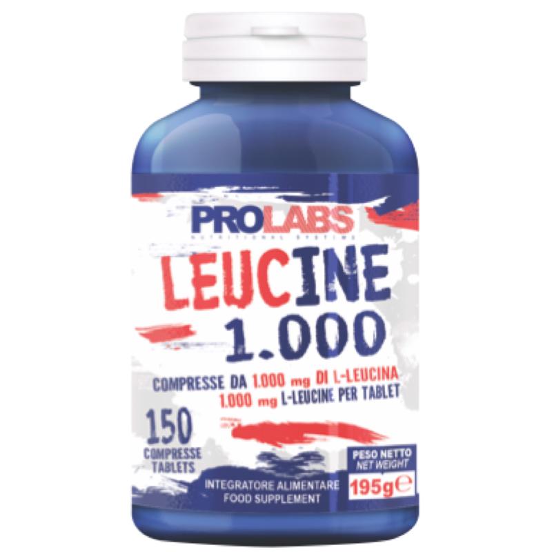 Prolabs Leucine 1000 150 compresse di Aminoacido Leucina in vendita su Nutribay.it