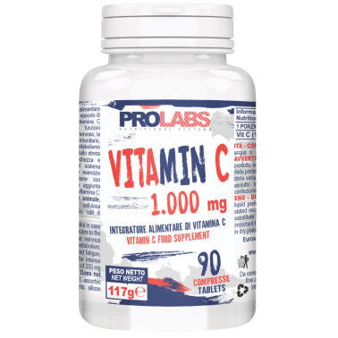 PROLABS Vitamin C 1000mg 90 cpr da 1 grammo in vendita su Nutribay.it
