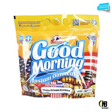 UNIVERSAL MCGREGOR Max Protein - Good Morning Instant Oatmeal - 1,5 Kg in vendita su Nutribay.it