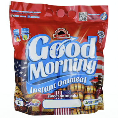 UNIVERSAL MCGREGOR Max Protein - Good Morning Instant Oatmeal - 3 Kg in vendita su Nutribay.it