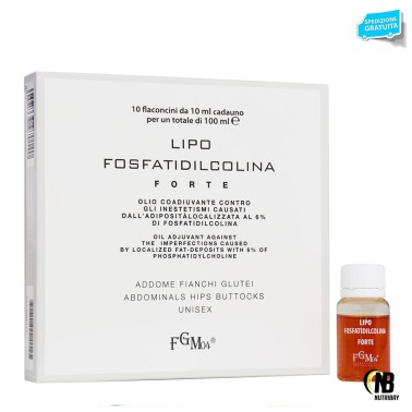 FGM04 Lipo Fosfatidicolina Forte 10 flaconcini da 10 ml in vendita su Nutribay.it