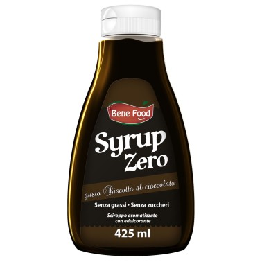 EUROSUP BENE FOOD SYRUP ZERO 425 ml in vendita su Nutribay.it