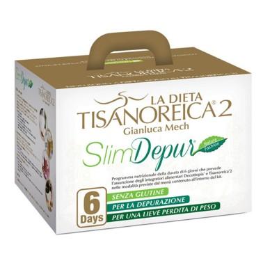 Tisanoreica KIT SLIM DEPUR 6 Days Slim Depur Tisanoreica 2 Depurativo in vendita su Nutribay.it