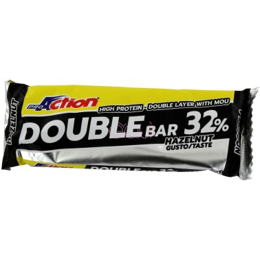 Proaction Double Bar 32% Barretta Proteica da 60 gr in vendita su Nutribay.it