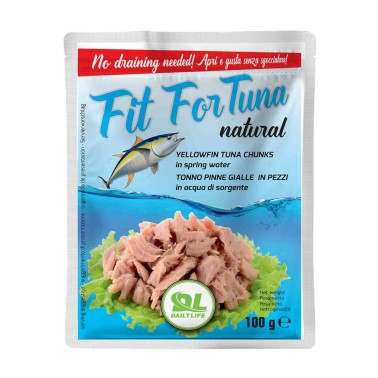 DAILY LIFE Fit for Tuna Natural 100 grammi in vendita su Nutribay.it