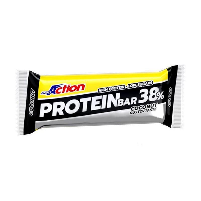 PROACTION Protein Bar 38% 1 barretta da 80 grammi in vendita su Nutribay.it