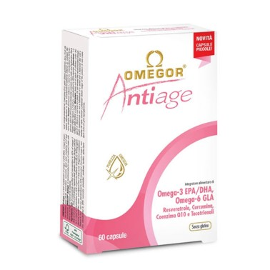 OMEGOR ANTIAGE Integratori Antiossidanti 60 perle omega 3 in vendita su Nutribay.it