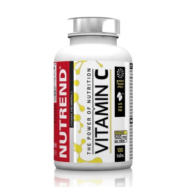 NUTREND Vitamin C con Rosa Canina 100 cpr in vendita su Nutribay.it