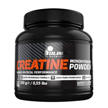 OLIMP Creatine Monohydrate Powder 250 grammi in vendita su Nutribay.it