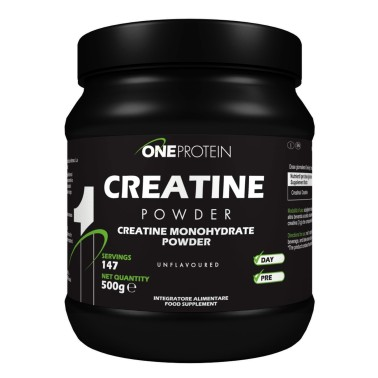 ONE PROTEIN Creatine Powder 500 grammi in vendita su Nutribay.it