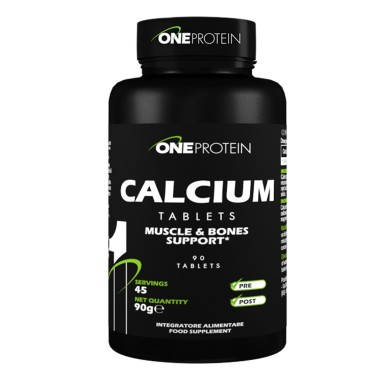 ONE PROTEIN Calcium 90 compresse in vendita su Nutribay.it