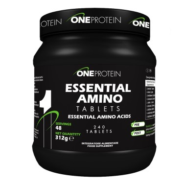 ONE PROTEIN Essential Amino Tablets 240 compresse in vendita su Nutribay.it