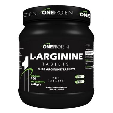 ONE PROTEIN L-Arginine Tablets 200 compresse in vendita su Nutribay.it