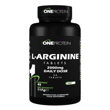 ONE PROTEIN L-Arginine Tablets 90 compresse in vendita su Nutribay.it