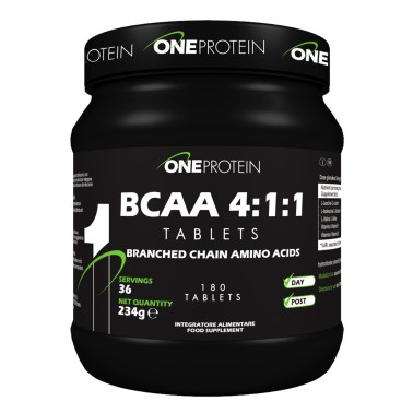 ONE PROTEIN BCAA 4:1:1 180 compresse in vendita su Nutribay.it