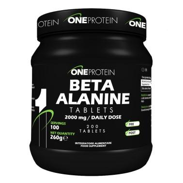 ONE PROTEIN Beta Alanine Tablets 200 compresse in vendita su Nutribay.it