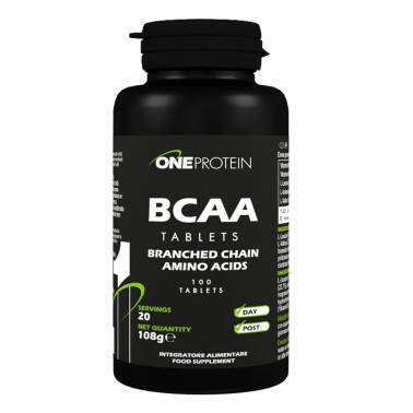 ONE PROTEIN BCAA Tablets 100 compresse in vendita su Nutribay.it
