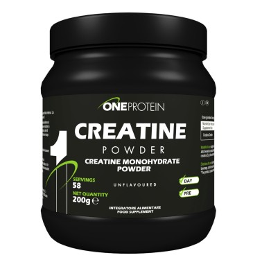 ONE PROTEIN Creatine Powder 200 grammi in vendita su Nutribay.it