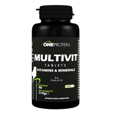 ONE PROTEIN Multivit 90 compresse in vendita su Nutribay.it