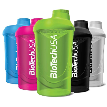Biotech Usa SHAKER WAVE da palestra 600 ml Per Integratori in vendita su Nutribay.it