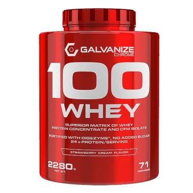 GALVANIZE NUTRITION 100 WHEY 2280 gr in vendita su Nutribay.it