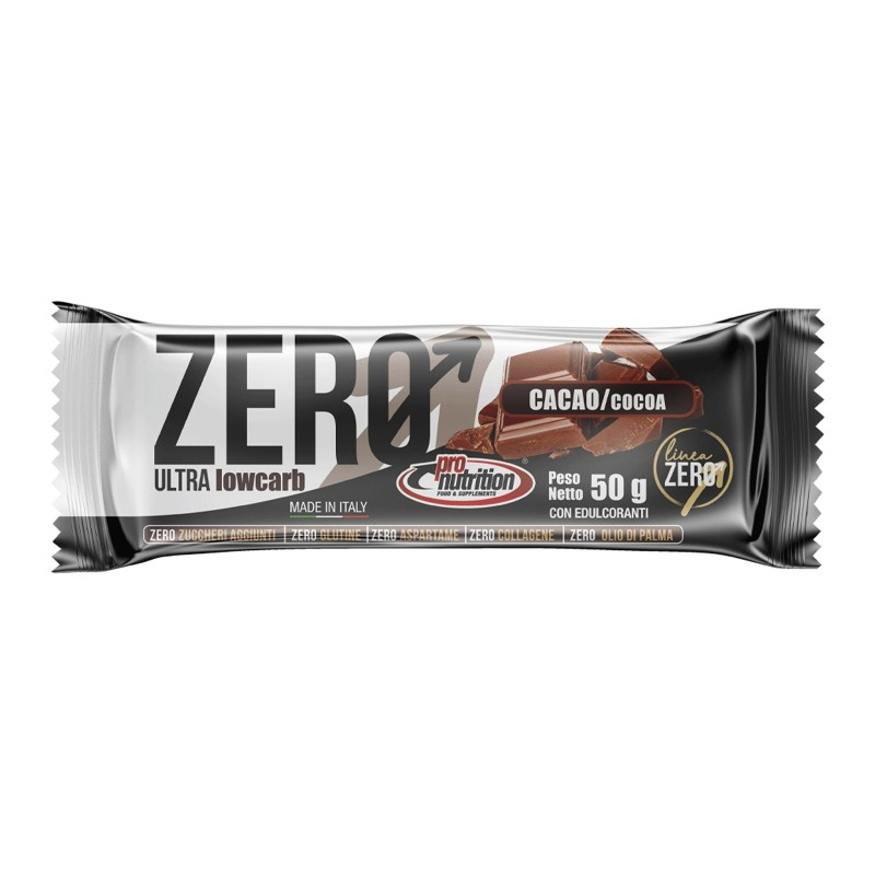 PRONUTRITION Zero BAR barretta Proteica 50 gr in vendita su Nutribay.it