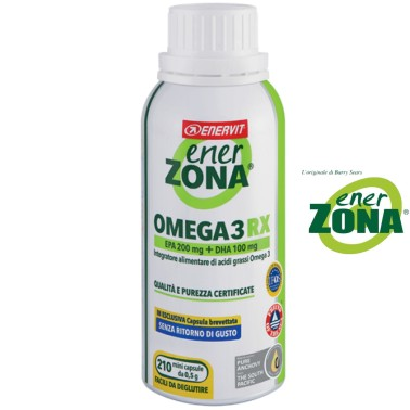 ENERZONA Enervit - Omega 3 RX 210 - cps da 0,5 grammi in vendita su Nutribay.it