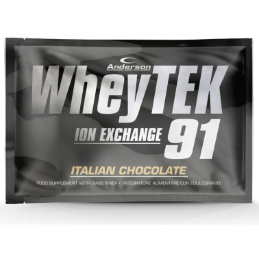 Anderson Whey Tek 91 24 gr Proteine del Siero del Latte Isolate in vendita su Nutribay.it