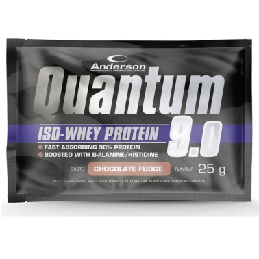 Anderson Quantum 9.0 25 gr 94% Proteine Siero Del latte Whey Isolate in vendita su Nutribay.it