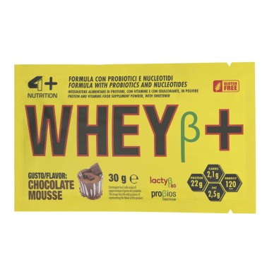 4+ Nutrition Whey+ 30 gr Proteine Siero del Latte Whey BUSTA MONODOSE in vendita su Nutribay.it