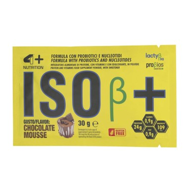 4+ Nutrition Iso+ 30 gr Busta monodose Proteine Isolate Zero Lattosio in vendita su Nutribay.it