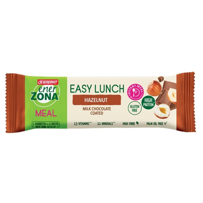 ENERZONA Enervit Easy Lunch Hazelnut 1 barretta 58 gr pasto sostitutivo in vendita su Nutribay.it