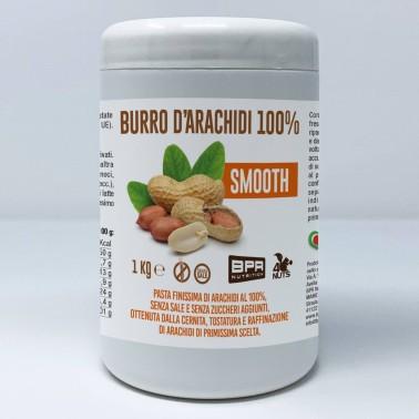 BPR NUTRITION Burro D'Arachidi 100% SMOOTH 1 Kg in vendita su Nutribay.it
