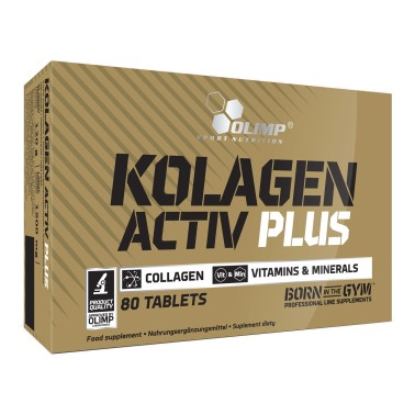 OLIMP Kolagen Activ Plus 80 compresse in vendita su Nutribay.it