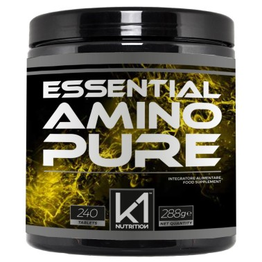 K1 Nutrition Essential Amino Pure 240 tabs in vendita su Nutribay.it